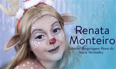 tutorial maquiagem do kiss tutorial maquiagem rena do nariz vermelho blog catharine