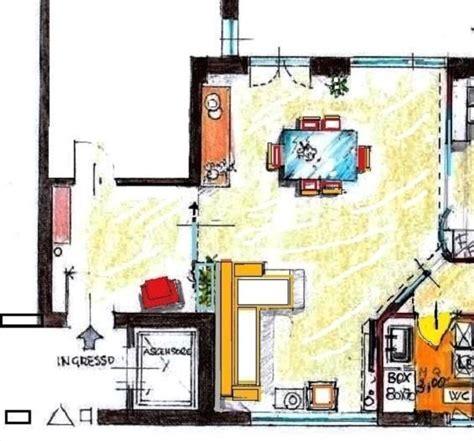 ingresso soggiorno divisione tra ingresso e soggiorno