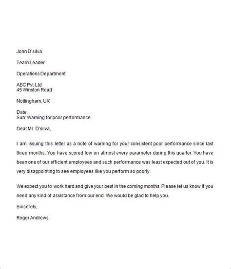 warning letter format letter format 2017