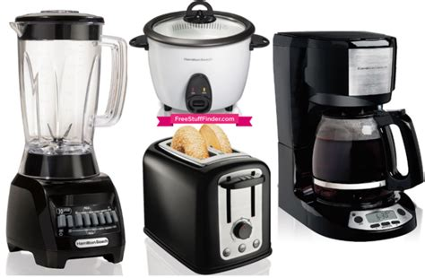 kohl s cardholders 5 small kitchen appliances 8 99 each hot 4 48 reg 25 hamilton beach small appliances