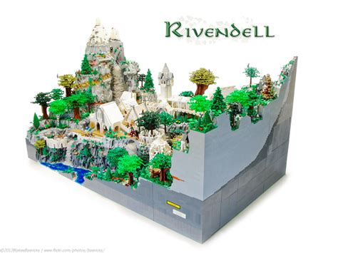 best lego set this lord of the rings rivendell might be the best lego