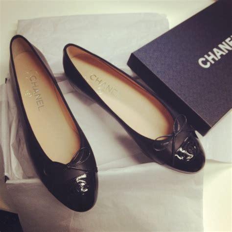 Sepatu Cha Nel Espardilles White chanel classic black ballet pumps or just a pair of ballet pumps winter clothes
