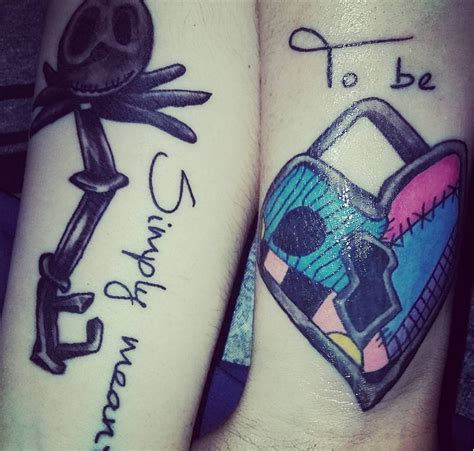 disney couple tattoos we are in with these disney themed tattoos
