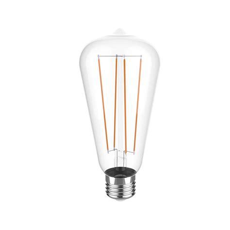 Led Light Bulbs 2700k Euri Lighting 40w Equivalent Warm White 2700k St19 Dimmable Clear Led Light Bulb Vst19 2000