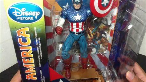 Marvel Select Captain America Disney marvel select classic captain america disney store exclusive figure review