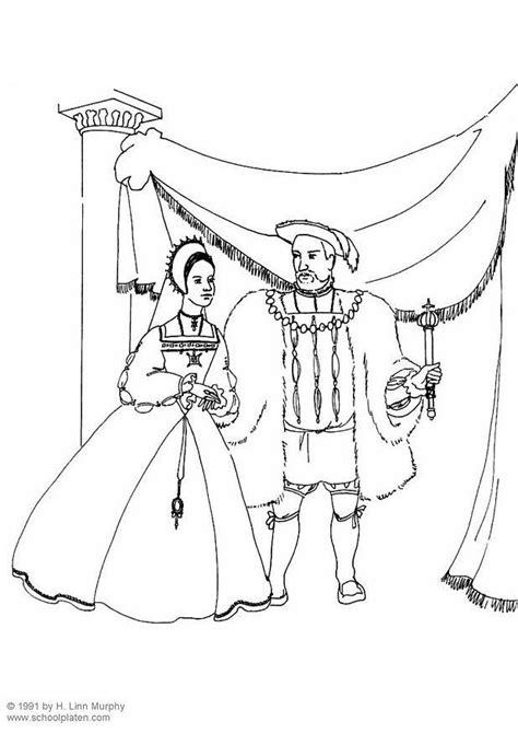 Dibujo para colorear Rey y reina - Img 3833