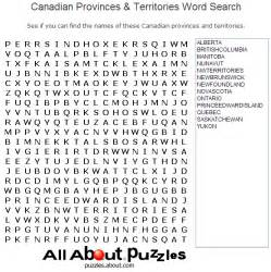 Search Canadian Word Search That You Can Print