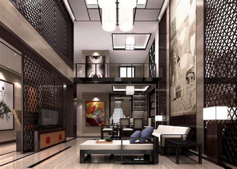 modern chinese interior design living room elegant chinese villa living room wall design plan