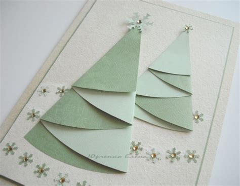 christmas craft ideas christmas tree cards crafts ideas