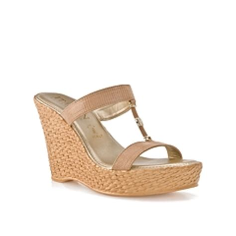 italian shoemakers aida wedge sandal dsw