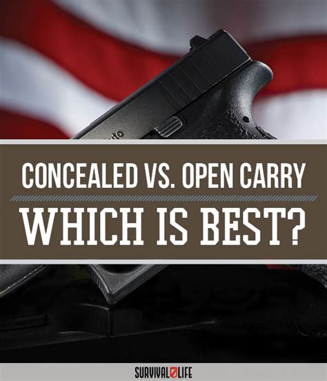 pros and cons of carry on vs checked baggage the concealed vs open carry pros and cons survival life