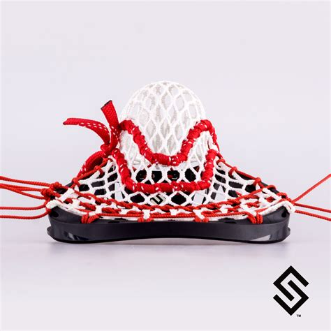String California - stylin strings california style mesh lacrosse pocket