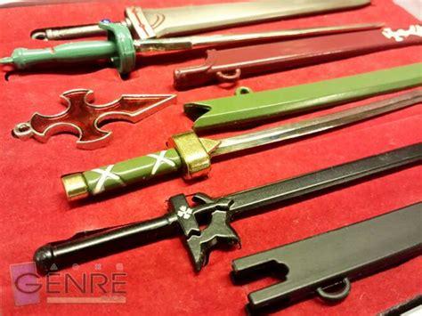 Gantungan Kunci Akrilik Anime Sword Kirito Asuna jual gantungan kunci pedang kalung sword sao