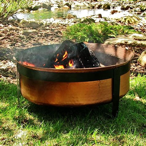 backyard burning fire pit backyard patio outdoor garden wood burning