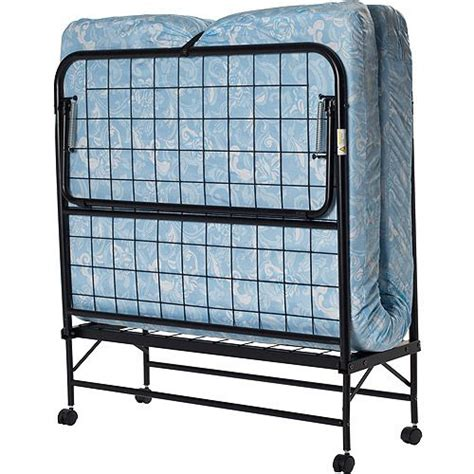 folding beds walmart folding guest bed with 5 quot mattress twin beds guest bed