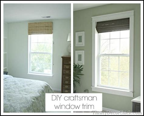 Trim Around Windows Inspiration Trim Makes The Difference Wood Trim Shades And Window