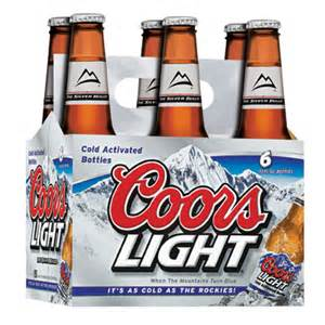 calories in a coors light johny fit