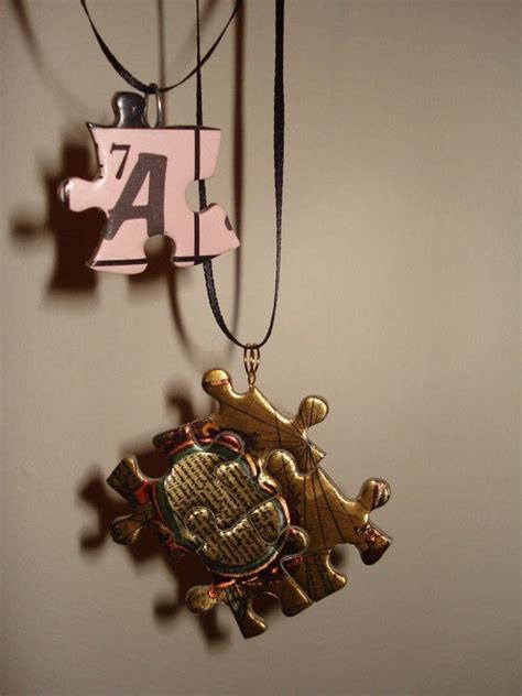 pieces to make jewelry puzzle necklaces 183 how to make a puzzle