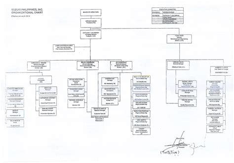 organizational chart of toyota toyota motor philippines corporation organizational chart
