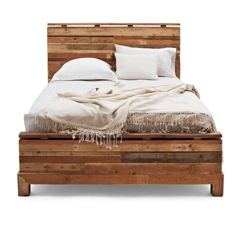 How To Make A King Size Platform Bed - 10 best images about custom reclaimed storage bed on pinterest modern bed frames wood beds