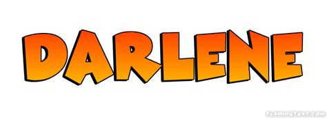 doodle name darlene darlene logo free name design tool from flaming text