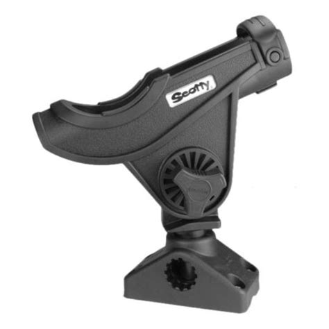 boat rod holders scotty scotty bait caster spinning rod holder with 241 side deck
