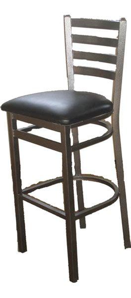 ladderback bar stools silvervein metal frame ladderback bar stool osl2301svb