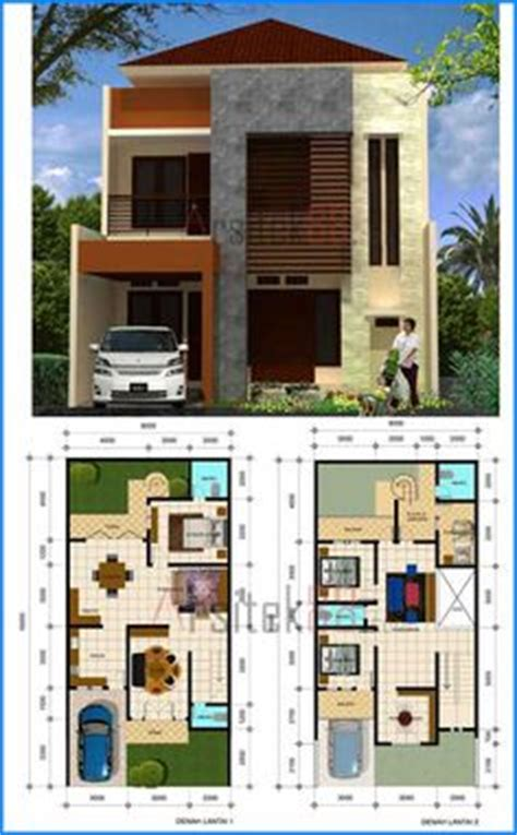 desain rumah lebar 5 meter desain rumah minimalis 2 lantai desain rumah lebar 7 meter