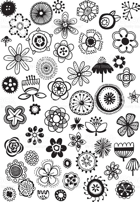 how to do a flowers doodle 1000 images about doodles on flower doodles