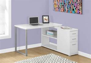 L Shaped Computer Desk With Storage White L Shaped Corner Computer Desk With Storage Computerdesk