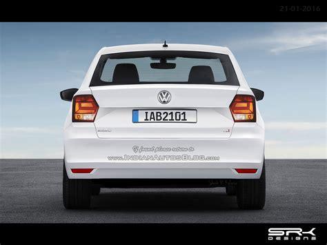Volkswagen Ameo 2020 by Vw Ameo Compact Sedan Iab Rendering