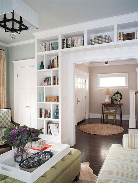 built ins define an entry via bhg diy built in ikea