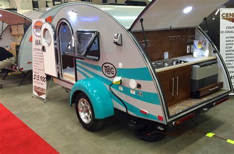 teardrop campers jumping jacks  frames   rv showstoppers rv family travel atlas