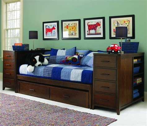 kendall daybed  storage drawers bedroom woodworking