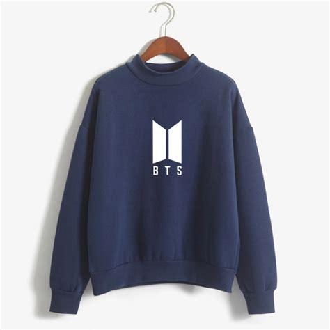bts hoodies letter printed