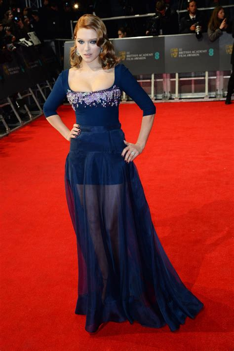 lea seydoux bafta lea seydoux at 2014 bafta awards in london hawtcelebs