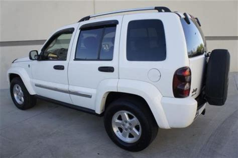 Jeep Liberty Seats Find Used Jeep Liberty Crd Diesel Limited 4x4 Heated Seats