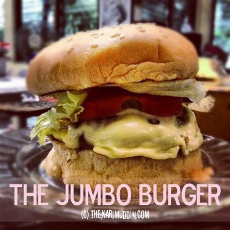Wajan Burger the jumbo burger the karimuddins