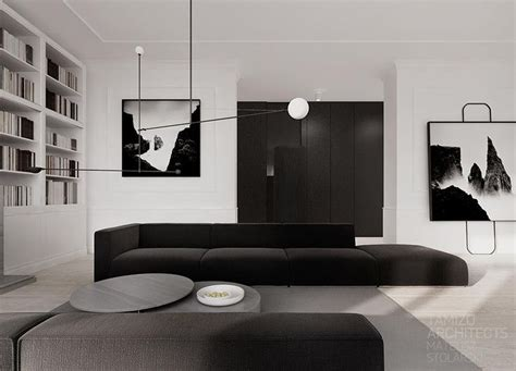interiors home decor best 25 monochrome interior ideas on black