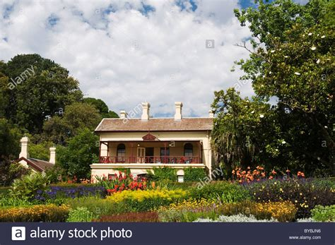 Gardens House Botanic Gardens Melbourne Gardens House The Official Residence At The Royal Botanic Gardens Stock Photo Royalty Free