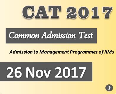 Cat Mba Entrance 2017 by Mba Entrance Exams 2017 18 28 Images Ignou Admission