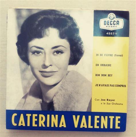 caterina valente italian songs 1950s caterina valente record vintage record music
