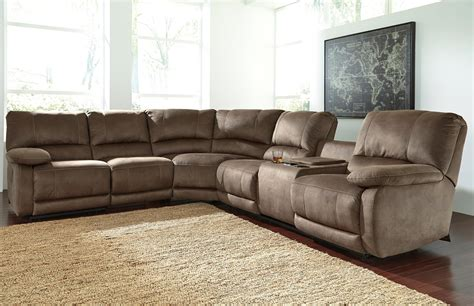 reclining sofa with massage signature design by ashley seamus power reclining