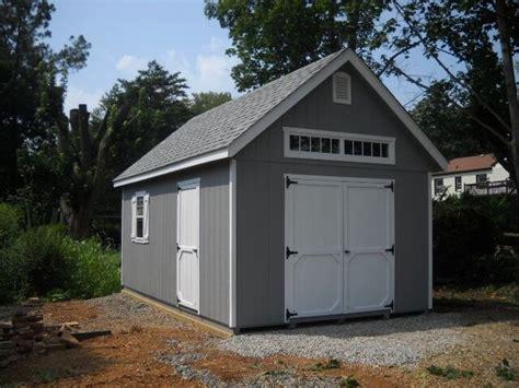 amish built   frame storage shed garage