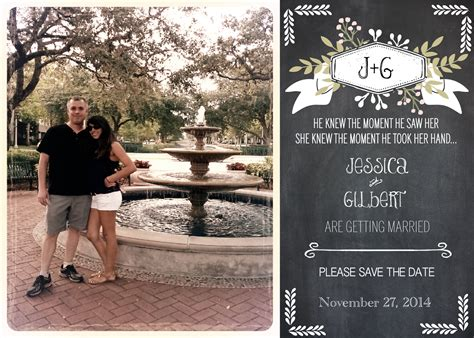 learn how to easily make your own magnet save the dates
