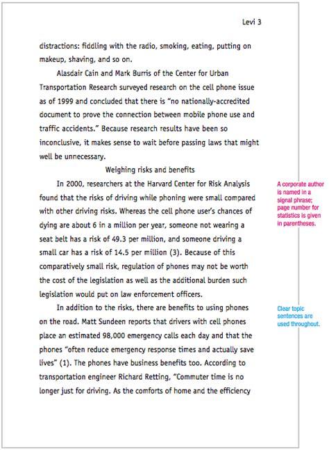 mla style essay template mla essay title