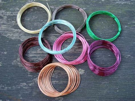 wires co uk sle pack 0 9mm coloured copper wire 8x 5