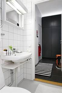 vintage black and white bathroom ideas swedish apartment boasts exciting mix of and new