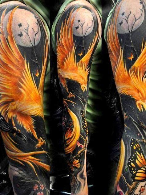 glow in the dark tattoo montreal best 25 rising phoenix tattoo ideas only on pinterest