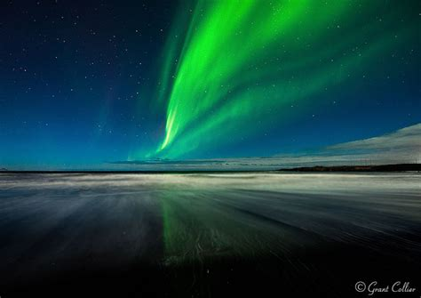 lights northern beaches northern lights the at stokksnes iceland